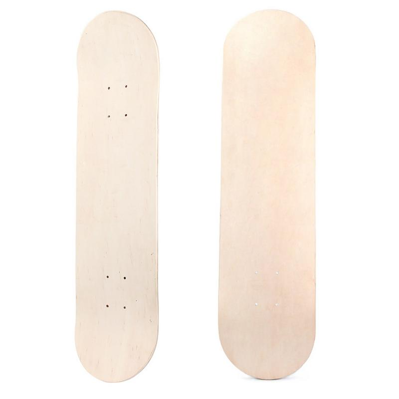 High Quality 8 Inch Canadian Maple Board Fashional Brush Street Fish Highway Travel Long Board Four Mini Skate Board