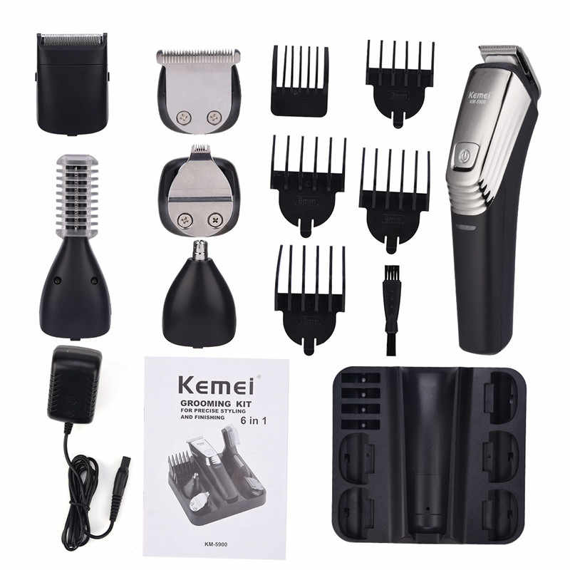Rechargeable Hair Trimmer Cutting Machine for Men Professional Electric Nose Sideburns Beard Precision Trimmer Hair Clipper P42