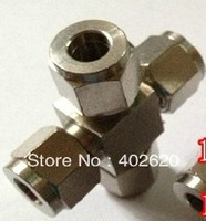 10mm SS304 Cross Stainless Steel Fittings Pipe Joint Fittings Steel Pipe Joint Stainless Steel Cap Stainless