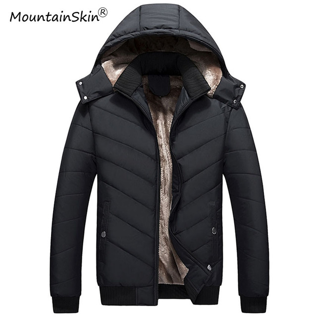 Aliexpress.com : Buy Mountainskin Mens Winter Jackets Hooded Coats ...