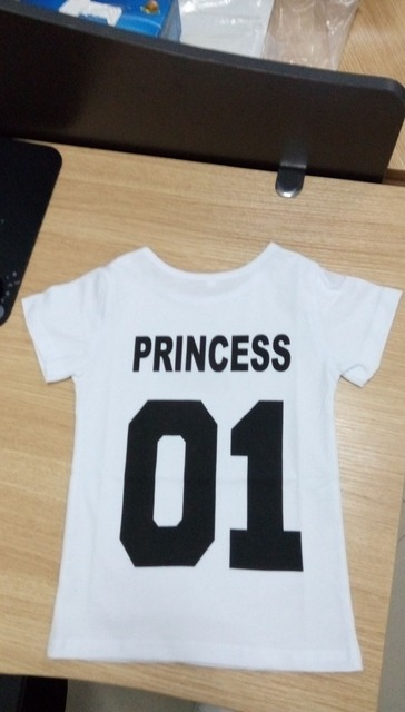4fa5b6642 BKLD New 100% Cotton Matching T shirt King 07 Queen 07 Prince ...