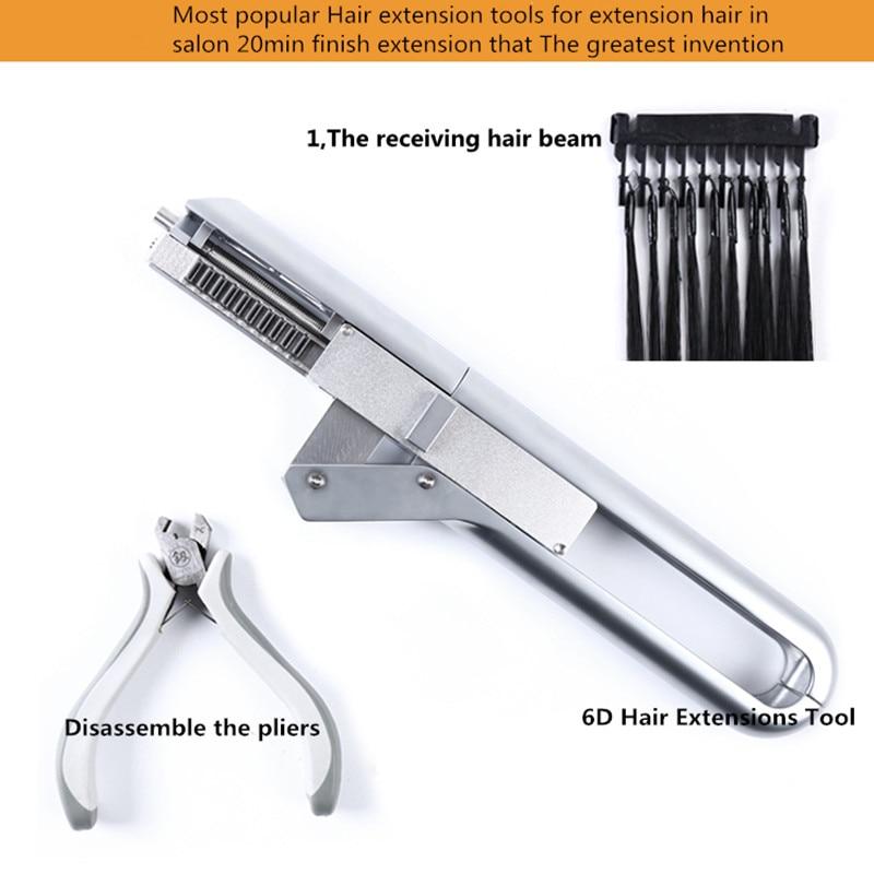 Pajisjet më të mira për zgjatjen e flokëve 6D makineri - Kujdesi dhe stilimi i flokëve