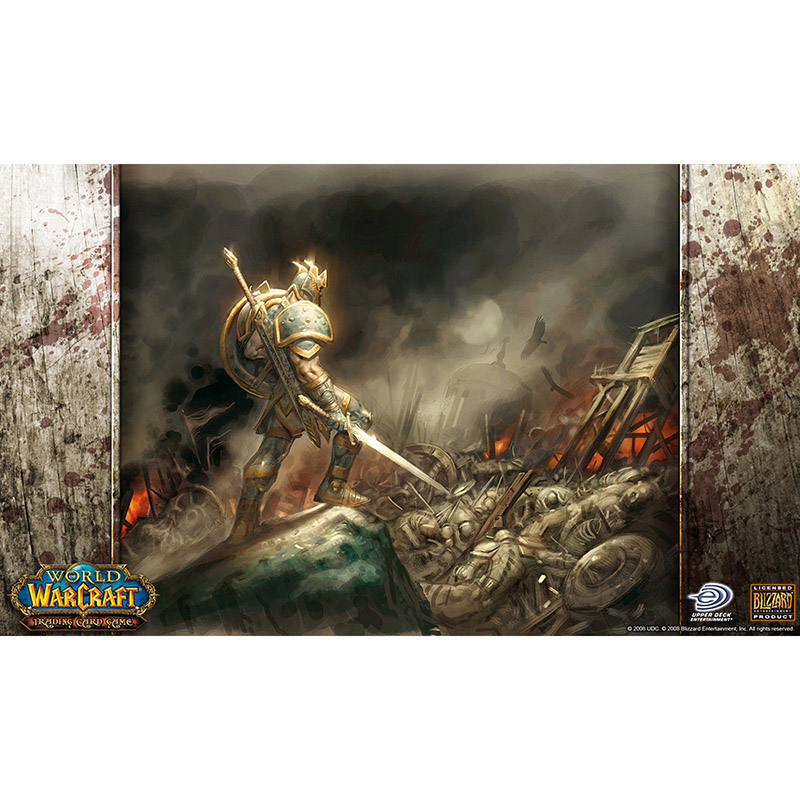 Limited Edition High Quality Full Art Arid Mesa WOW Board Game Cards Playmat 2MM Thickness