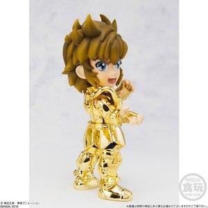 "Image 3 - 100% Original BANDAI Tamashii Nations Saint Seiya Daizenshuu Collection Toy Figure   Leo Aiolia from ""Saint Seiya"""