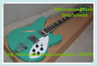 Top Selling China Hollow Maple Guitar Body 12 String Suneye Rick Electric Guitar In Glossy Green For Sale