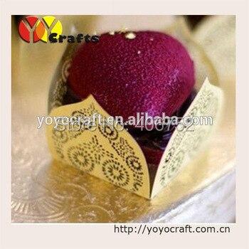 Лазерная резка упаковка коробка шоколадных конфет, уникальный небольшие подарки для гостей свадьбы