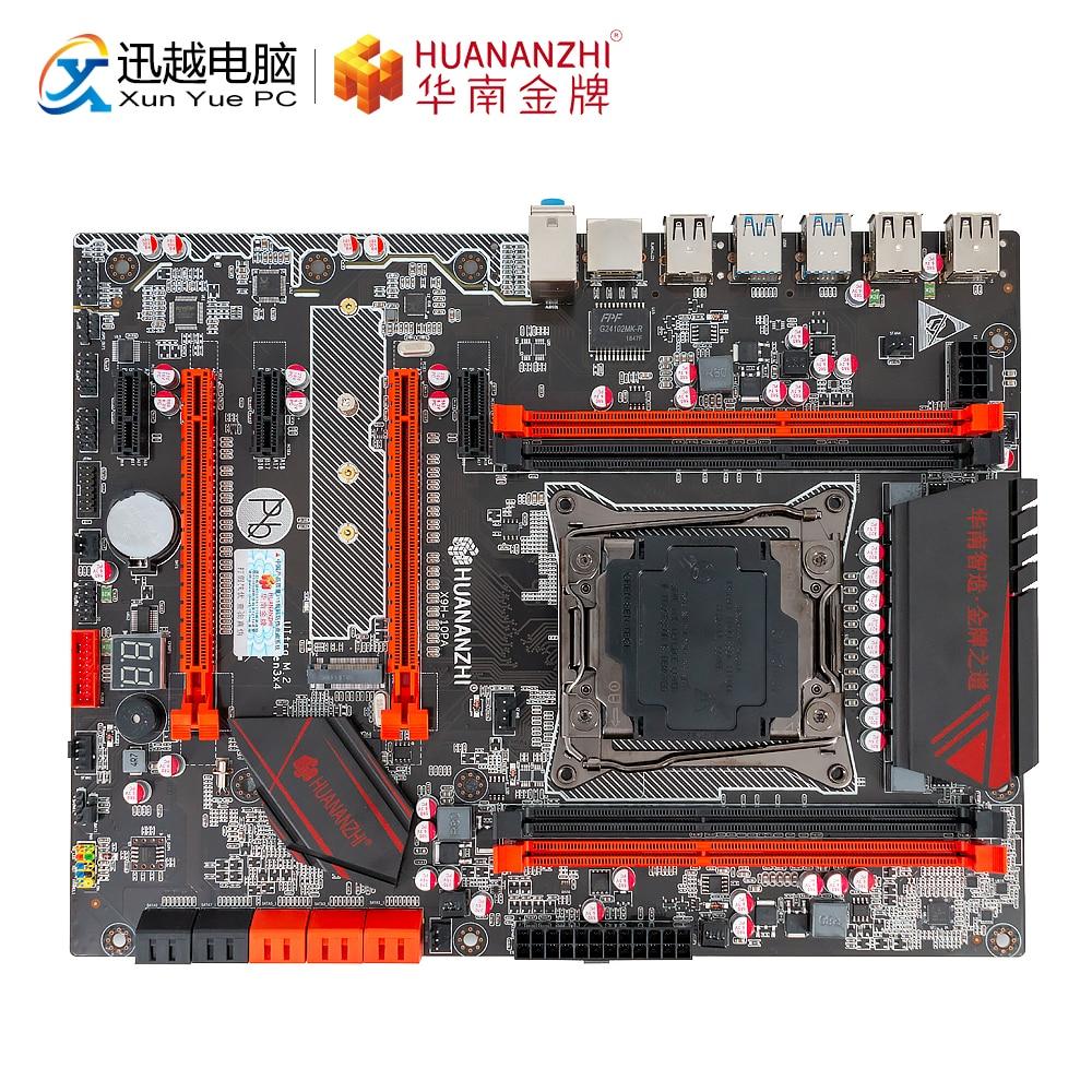 HUANAN ZHI X99-AD3 GAMING Motherboard Intel X99 LGA 2011-3 2678V3/2696V3 DDR3 1333/1600/1866MHz 64GB M.2 PCI-E NVME ATX
