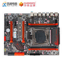 هوانان تشى X99-AD3 الألعاب اللوحة X99 إنتل LGA 2011-3 2678V3/2696V3 DDR3 1333/1600/1866 MHz 64 GB M.2 PCI-E NVME ATX(China)