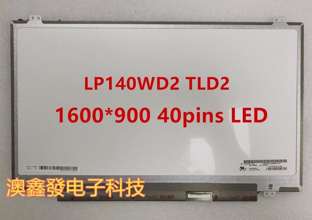 Pour LG matrix LP140WD2-TLD2 pour Lenovo Thinkpad T430 T430i T430S T420 T420I T420S 14