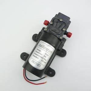 Электрический обратный клапан, тип 80 Вт 5.5л/мин, самовсасывающий водяной насос высокого давления 12 В постоянного тока
