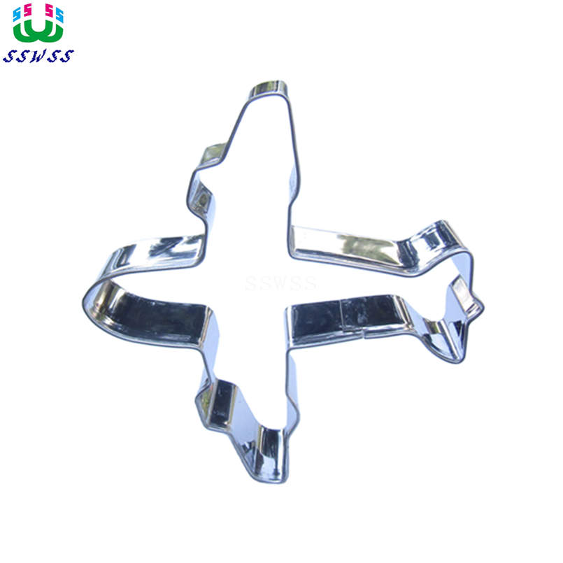 Aircraft Cake Cookie Biscuit Baking Mold Hot Sales,Small Fighters Shaped Cake Decorating Fondant Cutters Tools,Direct Selling