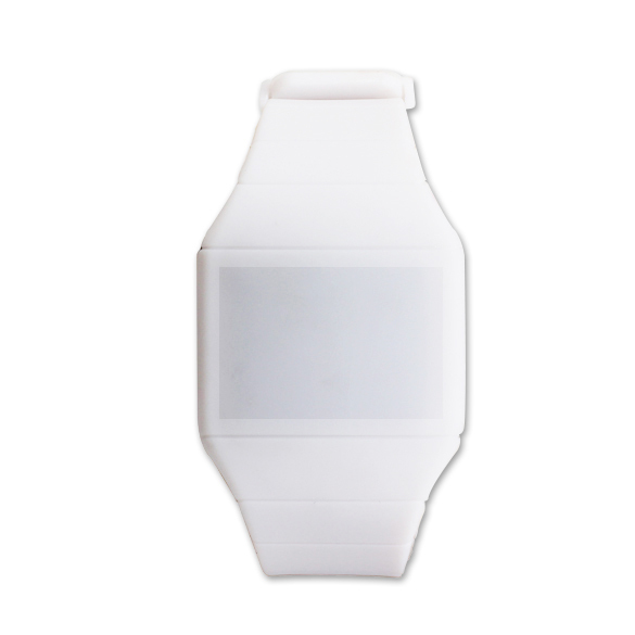 Adjustable Watchband With Buckle Easy To Wear Touch Screen LED Watch Digital Silicone Sports Wrist Watches Unisex