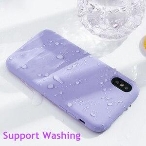 Image 4 - オリジナル液体ケース iphone XS 高級 Iphone 7 8 プラス 6 6 S プラス XR XS 最大キャンディーカラー Fundas Coques カパス