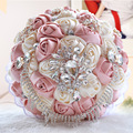 2017 Artificial Bouquet Luxury Wedding Bouquet High Qulaity Handmade Holding Flowers For Bride Wedding Accessory Bouquet Mariage