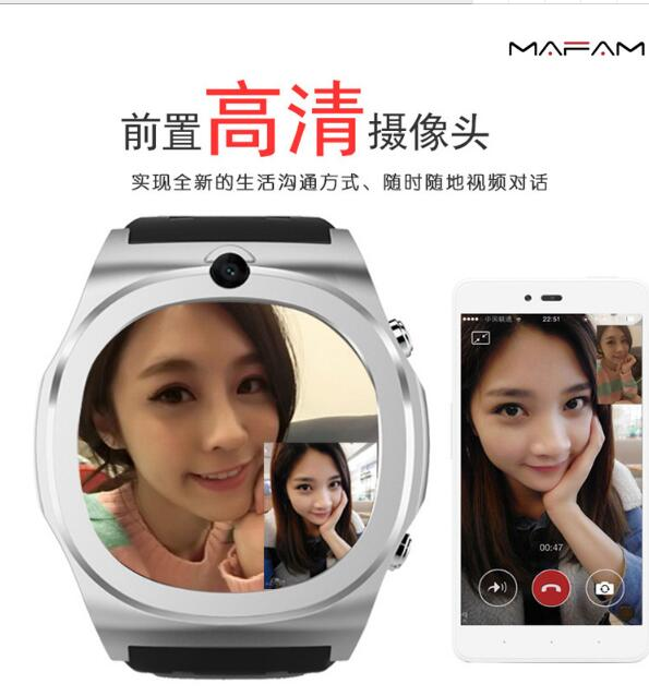 Q98 smart watch new Bluetooth mobile phone front camera video Android 3G mobile phone 5.1 SIM card GPS camera for Apple Huawei smart baby watch q60s детские часы с gps голубые
