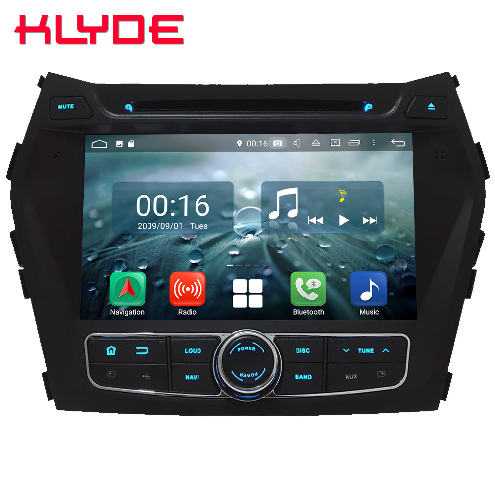 8 Octa Core 4G WIFI Android 8.1 4GB RAM 64GB ROM RDS Car DVD Multimedia Player Radio Stereo For Hyundai IX45 Santa Fe 2013 2016