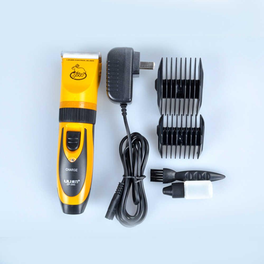 Pet profissional Elétrica Cabelo Aparador de Barba 220 V Elétrica Para Animais de Estimação para Cães e Gatos Produtos Barbearia Ferramentas