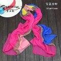 Новое поступление, Chifffon шарф! 2015 новая весна мода ddesigual шелковый шарф! Мода женщины радуга марка пляж шарф 160 * 50 см