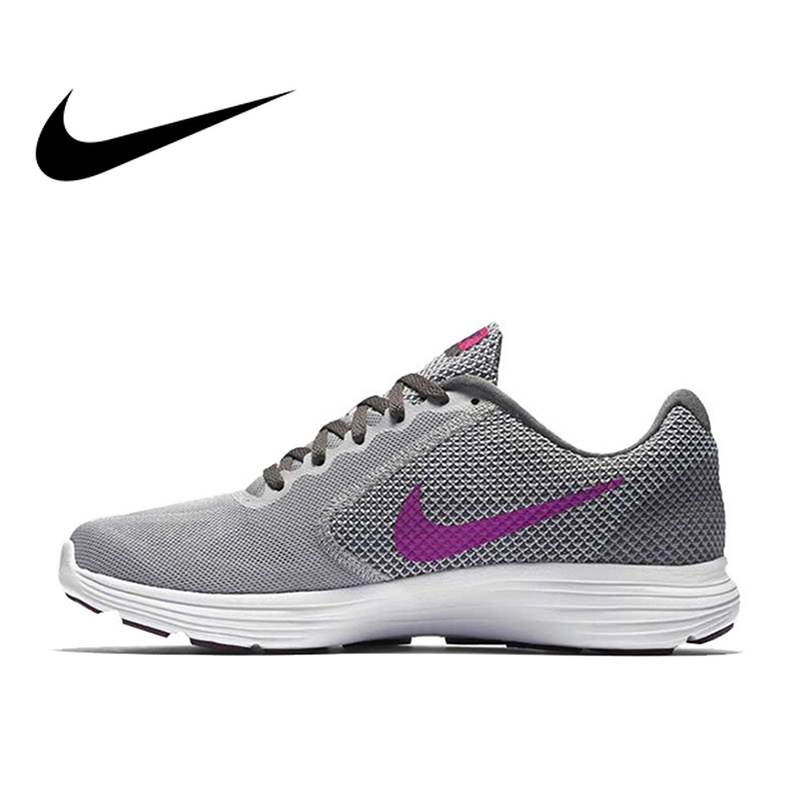 Original Official Nike REVOLUTION 3 Breathable Womens Running Shoes Sports Sneakers Outdoor Classic Comfortable durable 819303Original Official Nike REVOLUTION 3 Breathable Womens Running Shoes Sports Sneakers Outdoor Classic Comfortable durable 819303