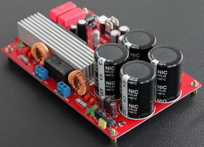 Free ship TA2022 amplifier board NE5532 TA2022 digital amplifier board 2*90W with heat sink