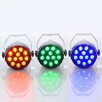 Aimbinet Par Light 12 LED RGB 3IN1 18W 1 5 12LED Stage Lighting DMX 512 Club