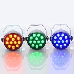 Aimbinet Par Light 12 LED RGB 3IN1 18W 1.5*12LED Stage Lighting  DMX 512  Club Disco Party Ballroom KTV Bar Wedding DJ