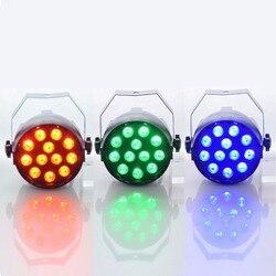 Luz Par Aimbinet 3IN1 18 W 1.5 * 12LED 12 LED RGB Iluminação de Palco DMX 512 Clube Disco Party Ballroom bar KTV DJ Casamento