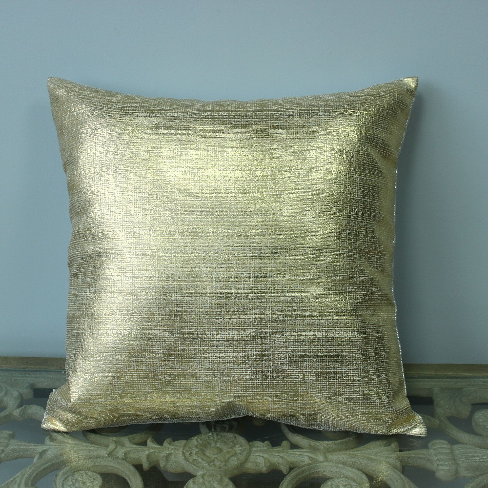 vezo home printed golden silver linen sofa cushions cover home decorative throw pillows cover chair seat