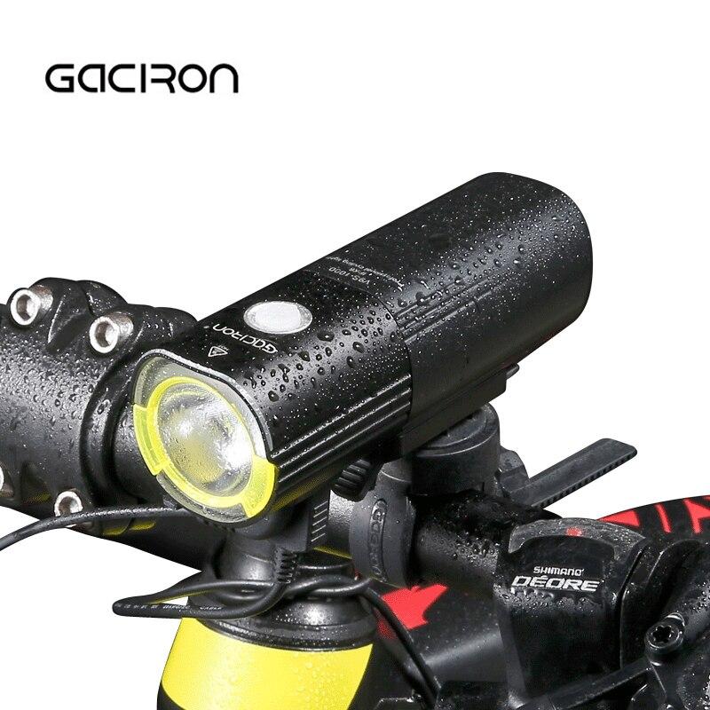 GACIRON 1000 Lumen Powerful LED Front Bike Light Waterproof Potencia MTB Road Bicycle Headlight Cycling Banco Farol De Bicicleta farol ваза ether