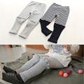 2-7 Yrs Meninas leggings 2016 NEW Sping crianças calças Bobo escolheu algodão listrado leggings calças do bebê para Meninas