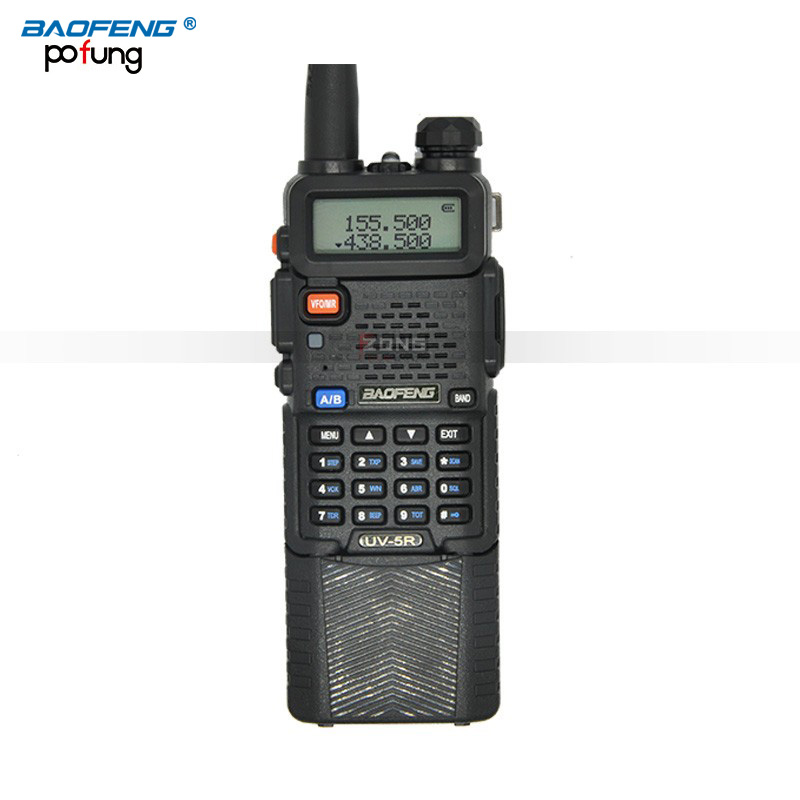 BaoFeng UV-5R Walkie Talkie 3800 mAh bateria Portátil rádio em dois sentidos UV5R longo-alcance sem fio 5 W Profissional Dupla CB rádio