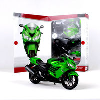 Kid Model Toys Maisto 1/12 Scale Kawasaki ZX 14R Motorcycle Diecast Vehicles Motor Model Toy for Collection Gift