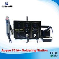 AOYUE 701A Brand 2 In 1 BGA Desoldering Station Electric Vacuum Desoldering Pump Solder Sucker Gun