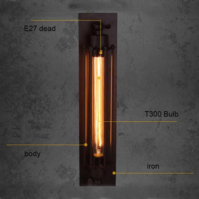 Dorf Retro Decke Lichter Amerikanischen Industriellen Stil Bar Cafe Restaurant Korridor Lampe Mit E27 Edison Flöte Glühbirne