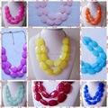 Бесплатная Доставка 10 Цветов Ожерелье, два Слоистых Ожерелье