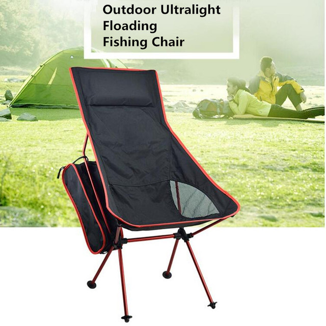 Lengthen Portable Fishing Chair Seat Lightweight Folding Outdoor C&ing Stool for Fishing Festival Picnic BBQ Beach  sc 1 st  AliExpress.com & Lengthen Portable Fishing Chair Seat Lightweight Folding Outdoor ...
