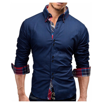 Men Business Slim Fit Dress Shirt 1