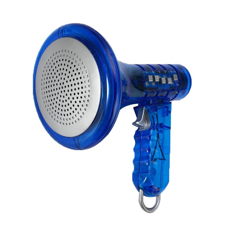 Multi Voice Changer Amplifier Blue 10 Different Voices Fun Toy Speaker Kids Gift