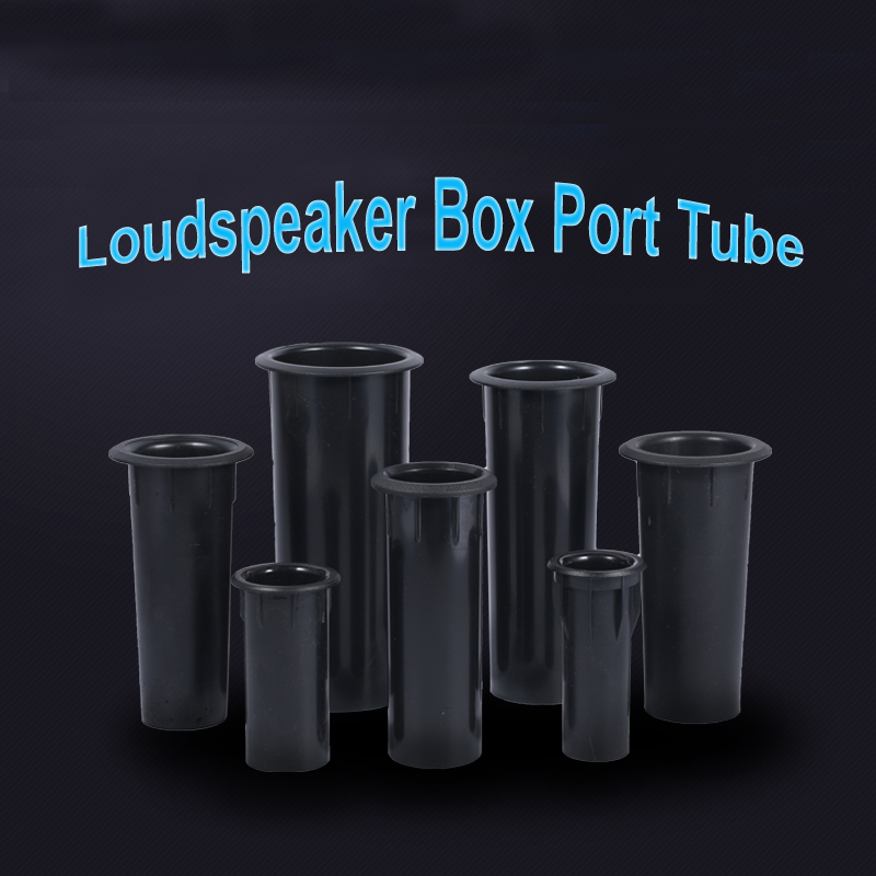 1PCS Speaker Port Tube Subwoofer Bass Reflex Tube Bass Woofer Box Port Tube Vent 35mm/37mm/40mm/45mm/50mm/60mm Opening Hole