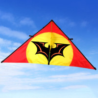 Outdoor Fun Sports The New Bat Power Kite Nylon Cloth Resin Rods Good Flying