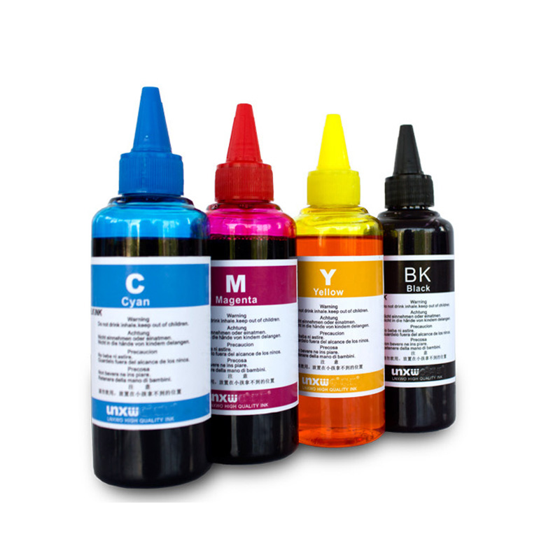 Dye Based Non OEM Refill Ink Kit for <font><b>Epson</b></font> L100 L110 L120 L132 <font><b>L210</b></font> L222 L300 L312 L355 L350 L362 L366 L550 L555 L566 <font><b>printer</b></font> image