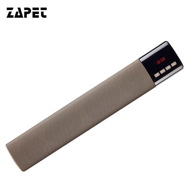 ZAPET Stereo Bass Bluetooth Lautsprecher Energienbank 10 Watt Drahtlosen Lautsprecher Heimkino Payty Lautsprecher Soundbar Altavoz mit Led-anzeige