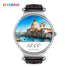 Interpad Android iOS Smart Uhr KW98 Mit WIFI GPS Telefon Uhr uhr Männer Frauen High Tech Smartwatch für Xiaomi A1 iPhone 8