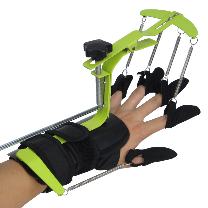 Hand PHYSIOTHERAPY REHABILITATION Training Equipment Dynamic Wrist and finger Orthosis for HEMIPLEGIA Patients' Tendon repair hand wrist orthosis separate finger flex spasm extension board splint apoplexy hemiplegia right left men women