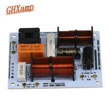 Ghxamp 180 w 3 way crossover casa teatro estante alto-falante 3 unidades divisor de freqüência 1000 hz 4800 hz 3-12
