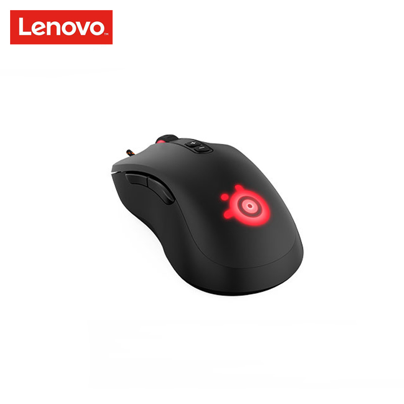 Lenovo R5-RIVAL Game Mouse Wired USB Optical Mouse Black Ergonomics 3500dpi for Video Game Office Mouse