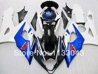 Blue White full Fairing for SUZUKI GSXR1000 2005 2006 GSX R1000 05 06 GSXR1000 K5 05 06 2005 2006