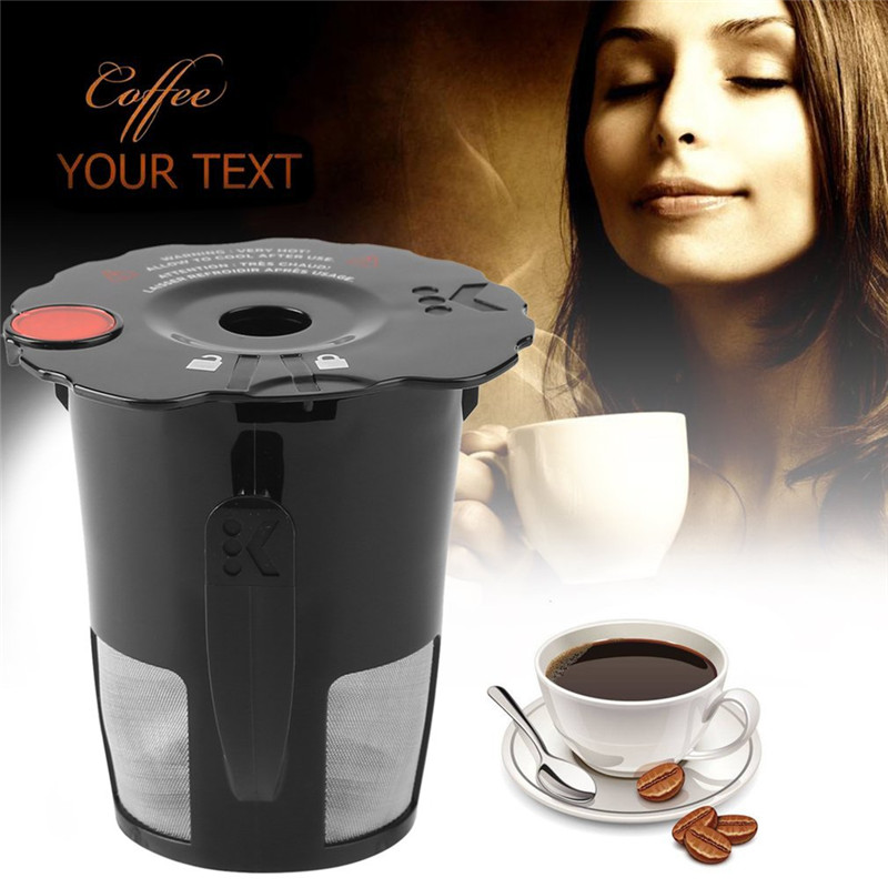 1pcs Coffee Filter Cup Convenient Clever Capsule Reusable Single Plastic Coffee Filter Mesh Cup Espresso Nescafe Filter Capsules