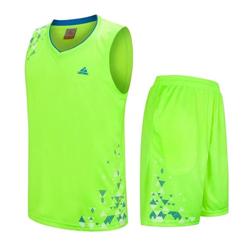 d5321d137 Good Buy 2017 Men Adult Basketball Jersey Sets Uniforms kits Sports clothing  Breathable basketball jerseys shirts pants DIY Print Custom - Embendleaw