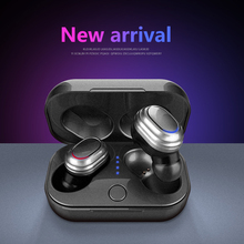 New Bluetooth V5.0 Headset Sport Wireless Headphones TWS Bluetooth Earphone For IPhone Samsung Huawei Xiaomi Android Earbuds